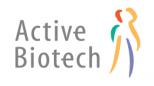 Medverkande företag logotyp - Active Biotech