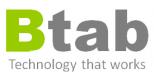 Medverkande företag logotyp - Btab