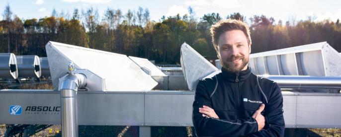 Absolicons solfångare hjälper de globala livsmedelsjättarna att ställa om till solvärme