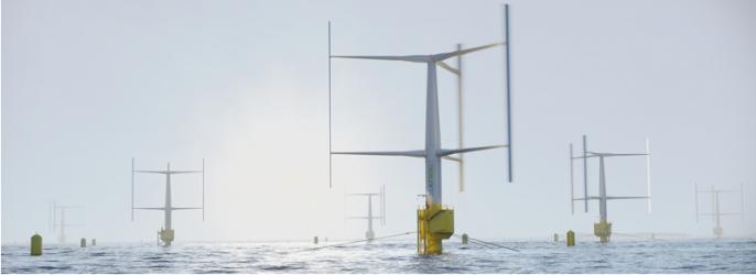 Flytande vindkraft till havs öppnar enorm marknad