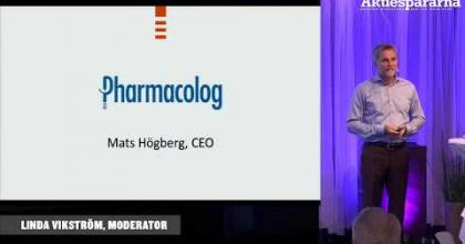 Embedded thumbnail for Aktiedagen Stockholm – Pharmacolog