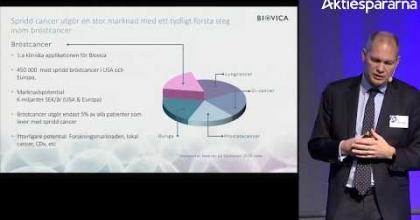 Embedded thumbnail for Biovica – Stora Aktiedagen Göteborg 2018