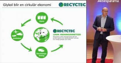 Embedded thumbnail for Aktiedagen Jönköping 13 mars – Recyctec Holding