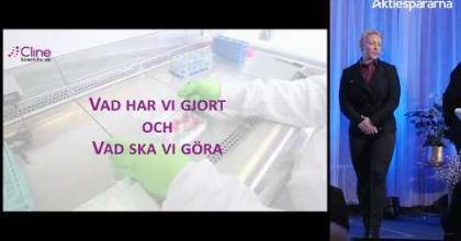 Embedded thumbnail for Aktiedagen Stockholm 5 mars - Cline Scientific