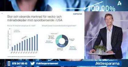 Embedded thumbnail for Camurus - Aktiedagen digitalt 15 september 2020