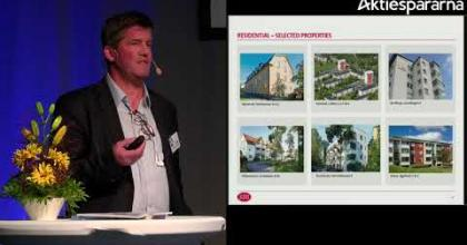 Embedded thumbnail for Samhällsbyggnadsbolaget – Stora Aktiedagen Göteborg 2018