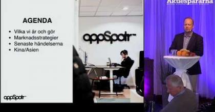 Embedded thumbnail for Aktiedagen Stockholm - AppSpotr