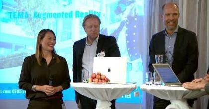 Embedded thumbnail for Aktiekvällen Stockholm – Paneldebatt om Augmented Reality