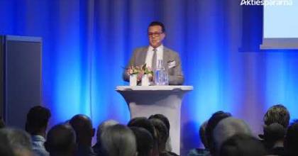 Embedded thumbnail for Aktiedagen Göteborg 8 maj – Spectracure