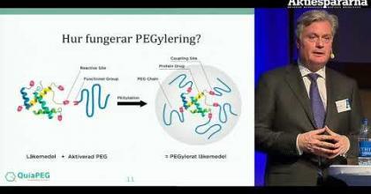 Embedded thumbnail for Stora Aktiedagen Göteborg – QuiaPEG Pharmaceuticals
