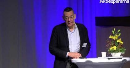 Embedded thumbnail for Vicore Pharma Holding – Stora Aktiedagen Göteborg 2018