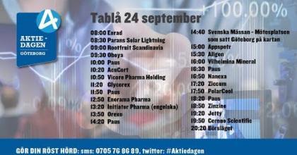 Embedded thumbnail for Följ Aktiedagen Göteborg 24 september live