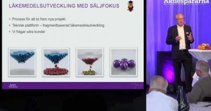 Embedded thumbnail for Aktiedagen Stockholm – Sprint Bioscience