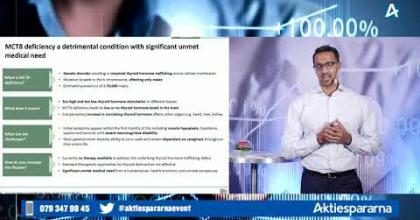 Embedded thumbnail for PledPharma – Aktiedagen digitalt 19 oktober 2020