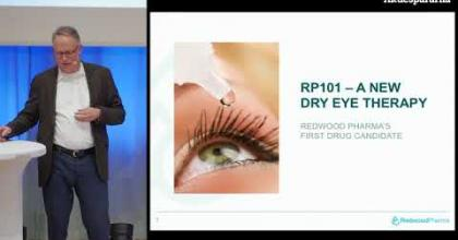 Embedded thumbnail for Aktiedagen Lund – Redwood Pharma