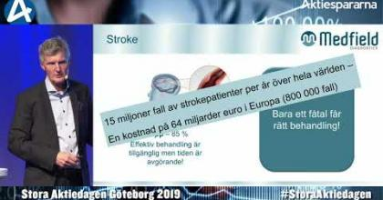 Embedded thumbnail for Medfield Diagnostics – Stora Aktiedagen Göteborg 4 november 2019
