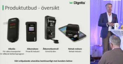Embedded thumbnail for Aktiedagen Stockholm 6 mars – Dignita Systems