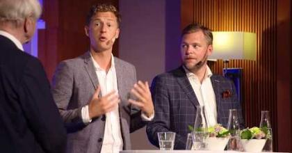 Embedded thumbnail for Småbolagsdagen 2018 – Paneldebatt: politiska incitament för småföretagandet