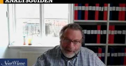 """Embedded thumbnail for Analysguiden, intervju med New Wave: """"Gissar att vi halverar resekostnaderna efter pandemin"""""""
