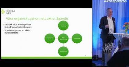 Embedded thumbnail for Aktiedagen Stockholm 5 mars – AdderaCare