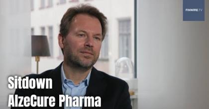 Embedded thumbnail for Analysguiden, intervju med AlzeCure Pharma Vd Martin Jönsson | Aktiespararna