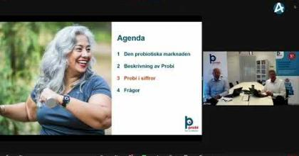 Embedded thumbnail for Probi – Småbolagsdagarna 9 juni 2021