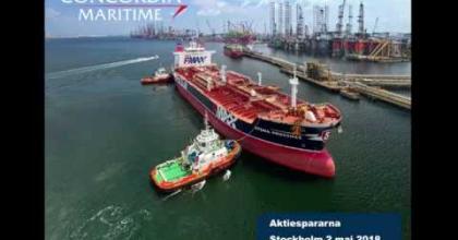 Embedded thumbnail for Aktiedagen Stockholm 2 maj – Concordia Maritime