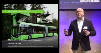 Embedded thumbnail for Aktiedagen Jönköping – Hybricon Bus System