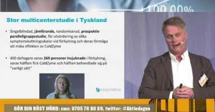 Embedded thumbnail for Enzymatica från Öresundsdagen 20 maj