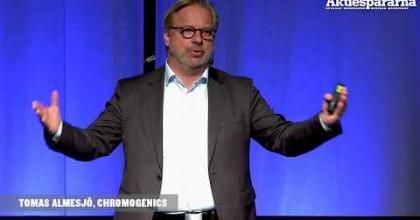Embedded thumbnail for Stora Aktiedagen Göteborg – ChromoGenics