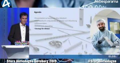 Embedded thumbnail for Elos Medtech – Stora Aktiedagen Göteborg 4 november 2019