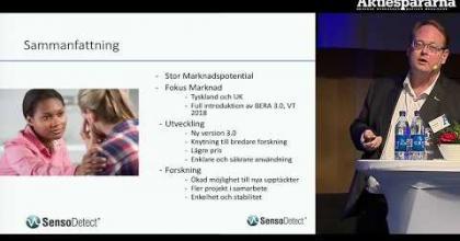 Embedded thumbnail for Stora Aktiedagen Göteborg – SensoDetect