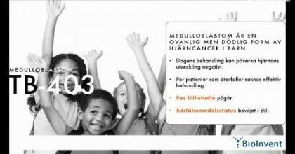 Embedded thumbnail for Aktiedagen Stockholm – Bioinvent International