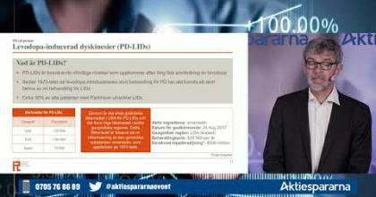 Embedded thumbnail for IRLAB Therapeutics - Aktiedagen Göteborg 18 maj 2020