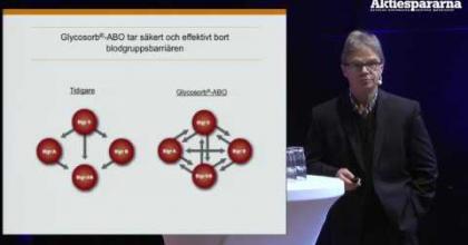 Embedded thumbnail for Aktiedgen Jönköping – Glycorex Transplantation