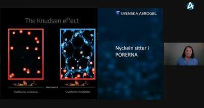 Embedded thumbnail for Svenska Aerogel Holding – Kvinnokvällen Göteborg 31 augusti 2021