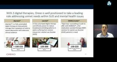 Embedded thumbnail for Orexo – Stora Aktiedagen Stockholm 2 december 2020