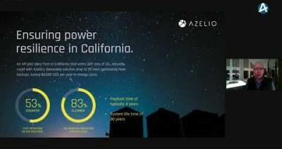 Embedded thumbnail for Azelio – Temakvällen om förnyelsebar energi 9 februari 2021