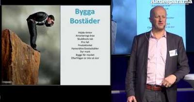 Embedded thumbnail for Stora Aktiedagen Göteborg – Bygga Bostäder