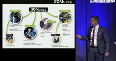 Embedded thumbnail for Stora Aktiedagen Göteborg – GomSpace