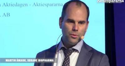 Embedded thumbnail for Stora Aktiedagen Göteborg – Xbrane Biopharma