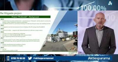 Embedded thumbnail for Cortus Energy - Småbolagsdagen Stockholm den 8 juni 2020