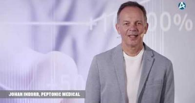Embedded thumbnail for Peptonic Medical - Småbolagsdagen Stockholm den 8 juni 2020