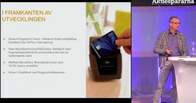 Embedded thumbnail for Aktiedagen Malmö - Precise Biometrics
