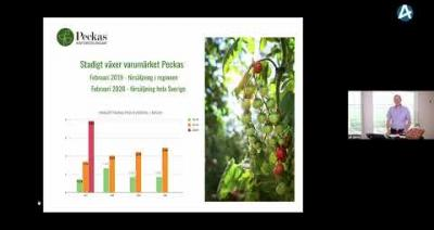 Embedded thumbnail for Peckas Naturodlingar - Småbolagsdagen Stockholm den 8 juni 2020
