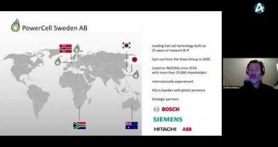 Embedded thumbnail for PowerCell Sweden - Stora Aktiedagen Göteborg digitalt 9 november 2020
