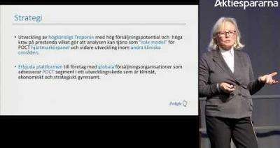 Embedded thumbnail for Prolight Diagnostics – Stora Aktiedagen Göteborg 2018