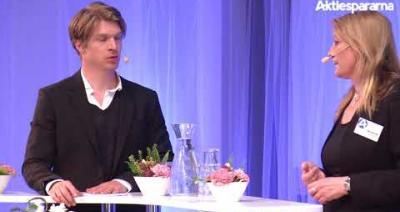 Embedded thumbnail for Aktiedagen Malmö 22 maj – Intervju med Calmark