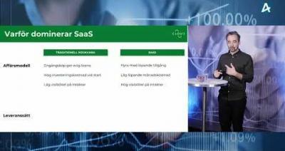 Embedded thumbnail for Risker och möjligheter med att investera i SaaS – Aktiespararna Tema: SaaS 17 mars 2021