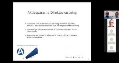 Embedded thumbnail for Stora Fondkvällen digitalt – Cicero Fonder